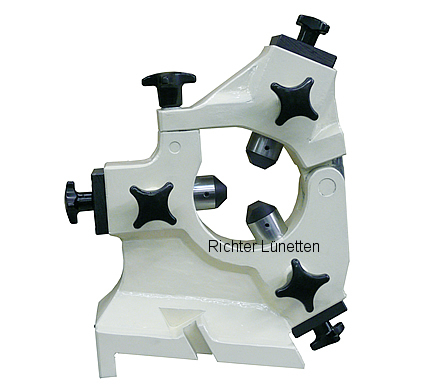 Fortuna UFD2500 - Closed Grinding Steady Rest with hinged upper section, made by H. Richter Vorrichtungsbau GmbH, Germany