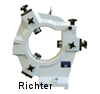 Closed Grinding Steady Rest with hinged upper section, made by H. Richter Vorrichtungsbau GmbH, Germany, thumbnail
