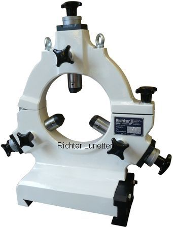 Overbeck GmbH - Closed Grinding Steady Rest with hinged upper section, made by H. Richter Vorrichtungsbau GmbH, Germany