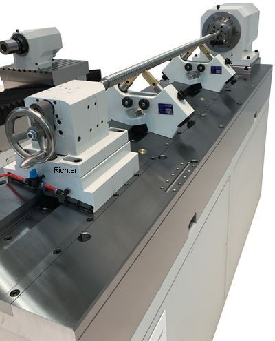 Haas Germany - Broach Grinding Steady Rest, made by H. Richter Vorrichtungsbau GmbH, Germany