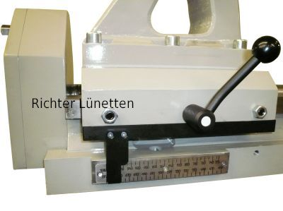 Parallel-closing roller trestle, made by H. Richter Vorrichtungsbau GmbH, Germany