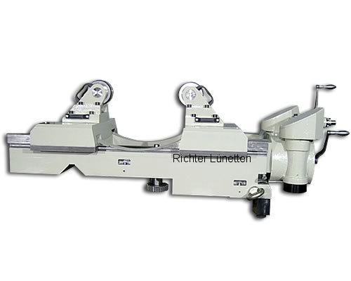 Heyligenstaedt KV-800-CNC - Roller Steady Rest with measuring system and 2 spindles, made by H. Richter Vorrichtungsbau GmbH, Germany