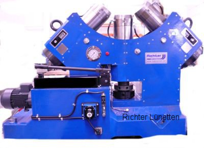 Niles - Sliding Steady Rest with pressurised oil lubrication, made by H. Richter Vorrichtungsbau GmbH, Germany