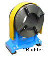 Ring Steady Rest with in-built surface plate clamping, made by H. Richter Vorrichtungsbau GmbH, Germany, thumbnail