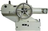 Tailstock - gear driven, made by H. Richter Vorrichtungsbau GmbH, Germany, thumbnail