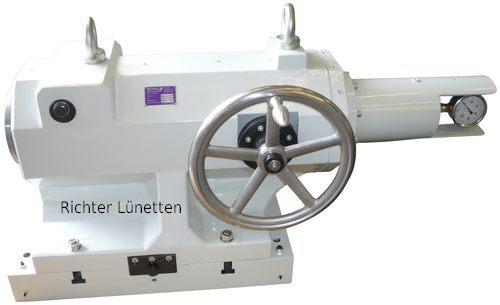 Tailstock - gear driven, made by H. Richter Vorrichtungsbau GmbH, Germany