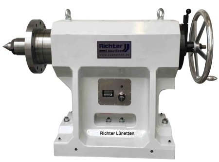 Tailstock with digital force display, made by H. Richter Vorrichtungsbau GmbH, Germany