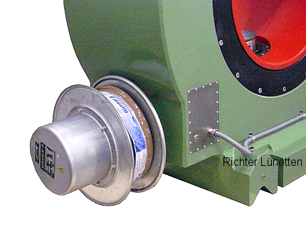 Power cable reel, made by H. Richter Vorrichtungsbau GmbH, Germany