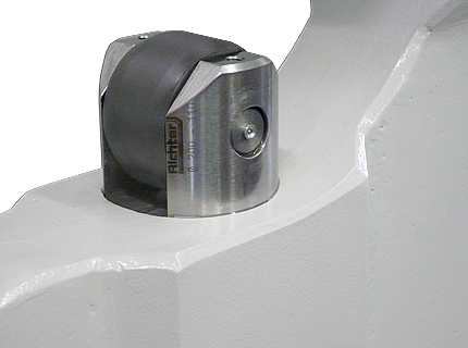 Richter®-Roller from special Plastic, made by H. Richter Vorrichtungsbau GmbH, Germany