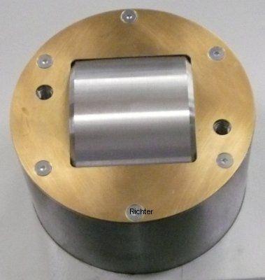 Mazak Integrex 650 H2 x 4000 - Quill with deflector plate, made by H. Richter Vorrichtungsbau GmbH, Germany