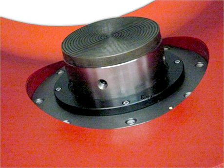 Hardened insert for ring steady rest, made by H. Richter Vorrichtungsbau GmbH, Germany