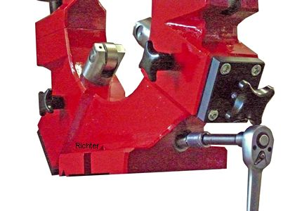 Rear quill operated from the front, made by H. Richter Vorrichtungsbau GmbH, Germany