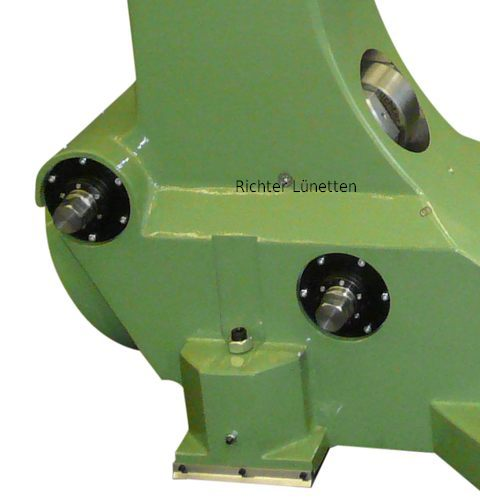 Worm gear for quill operation, made by H. Richter Vorrichtungsbau GmbH, Germany
