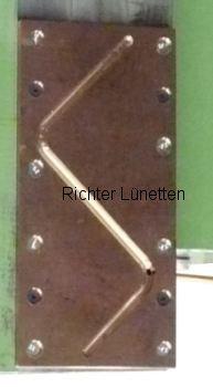 Machine slideways contact, made by H. Richter Vorrichtungsbau GmbH, Germany