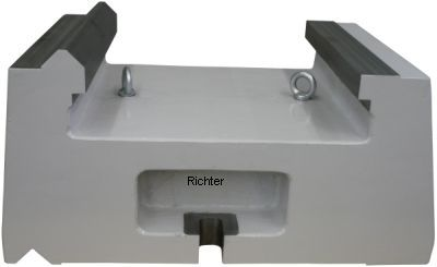 Spacer for steady rest, made by H. Richter Vorrichtungsbau GmbH, Germany